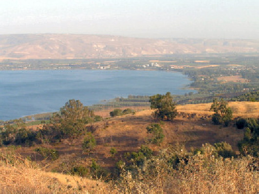 Cycling Around the Sea of Galilee