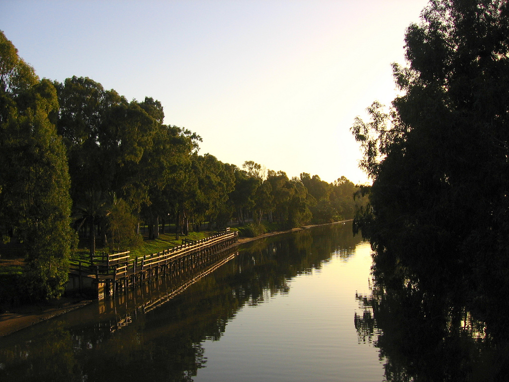 View of Yarkon River