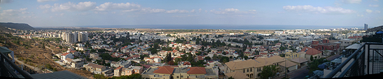 View of Tirat Carmel