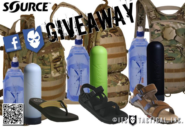 SOURCE Partners with ITS Tactical for Huge GIVEAWAY!