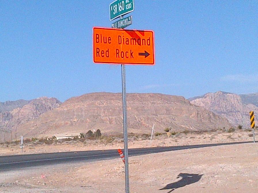 "Vegas - Red Rock Canyon ""dry run"""