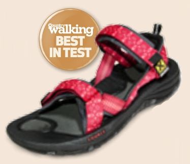 Best in Test Award for the Gobi Lady sandal