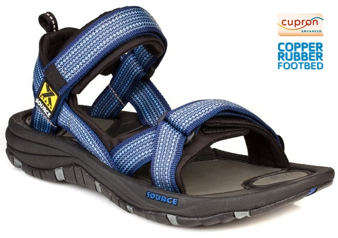 Source Gobi Sandal Cupron Footbed