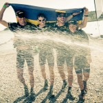 Celebrating Bronze at the Adventure Racing World Championship 2012