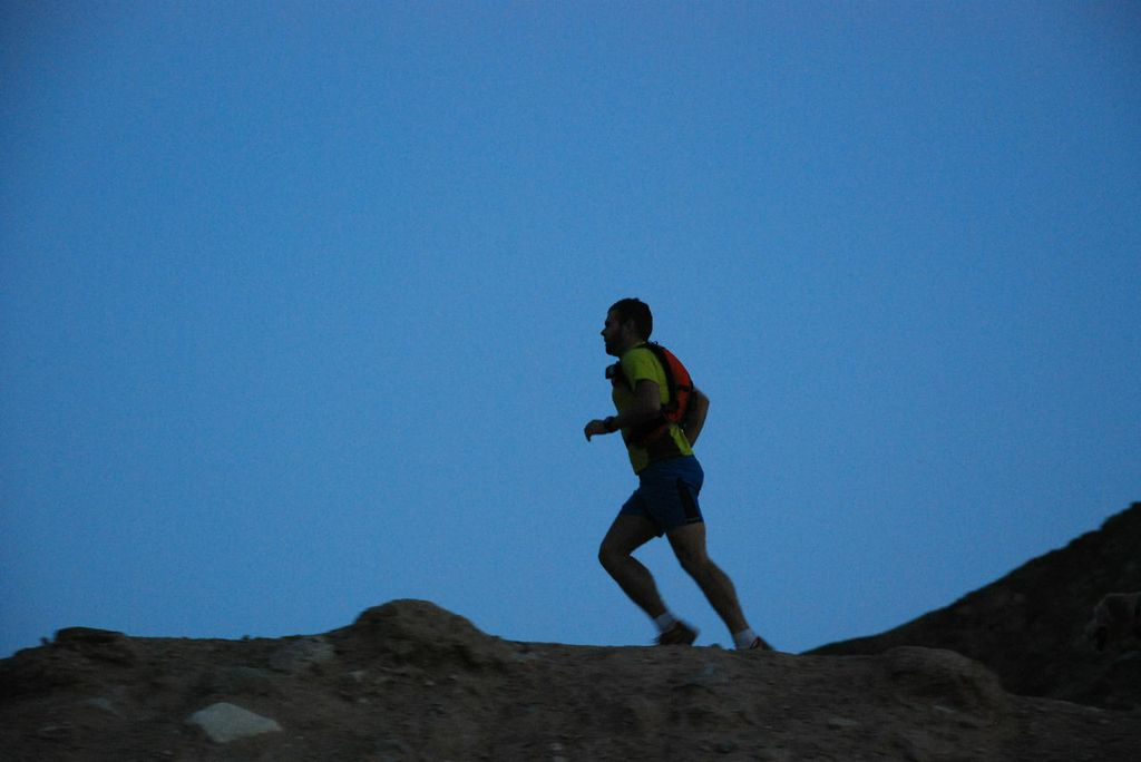 INT Run: Half-time coming up for ultra-runner Richard Bowles