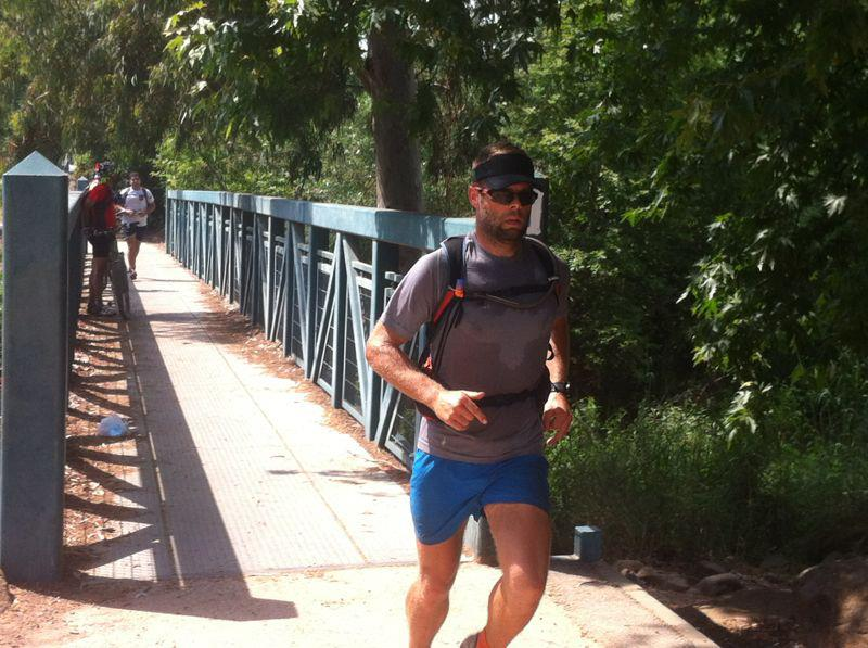 He did it ...! - Richard Bowles finished the Israel National Trail