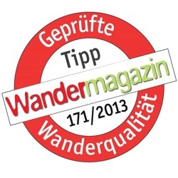Source Widepac WXP recommended by «Wandermagazin» in long term field-test