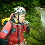 Laurent Poublan - Canyoning professional - SOURCE Hydration