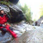Canyoning professional Laurent Poublan - Where he feels almost 'at home'