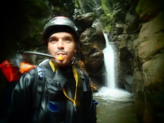 Follow the water! Canyoning with SOURCE