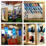 SOURCE booth at Friedrichshafen OutDoor show