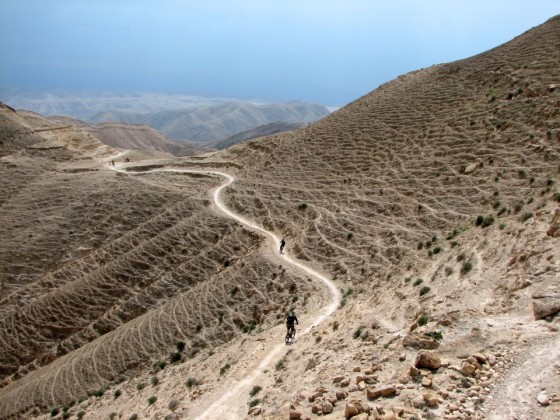 Mountain biking in the Holy Land
