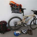 Israel National Trail Bike Trip Packed