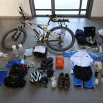 Israel National Trail Bike Trip Packing