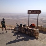 Israel National Trail Bike Trip - Views ..