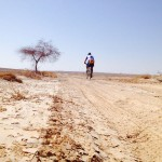 Israel National Trail Bike Trip - Beautiful Desert