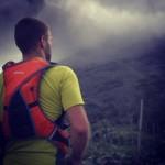 Richard with his Source DUNE at Mt Sinabung (Photo: A. Stamatakakos)