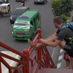 Richard Bowles in Medan Sumatra