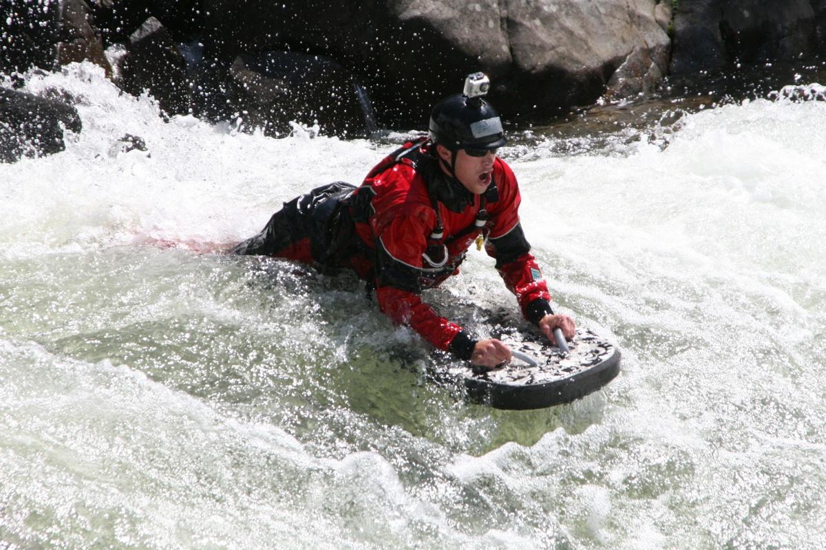 water boarding