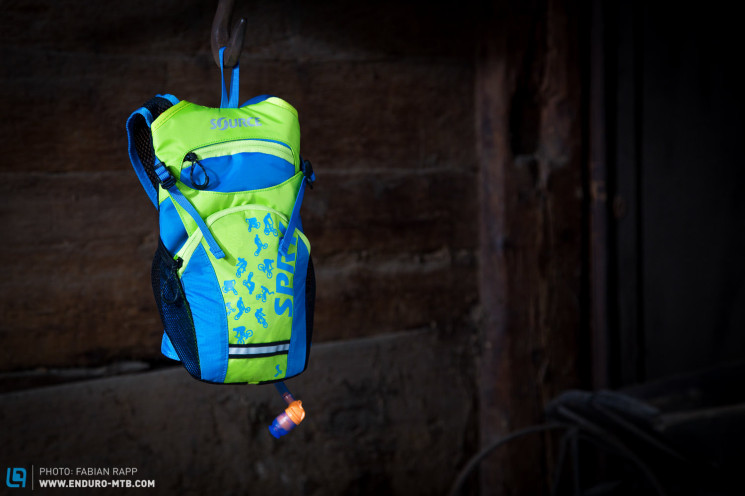 SPRY Hydration Pack for Kids (1 von 1)-Design & Innovation Award 2015 www.enduro-mtb.com