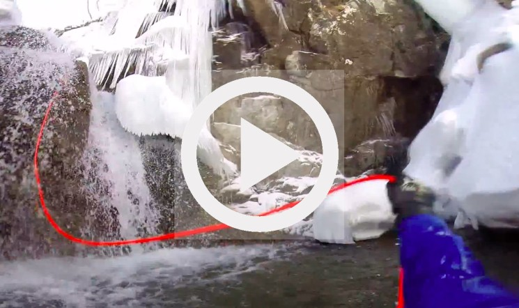 Watch: Ice Canyoning, One For The Chills