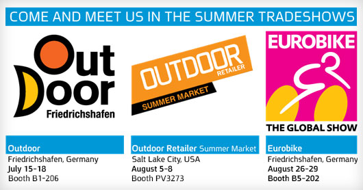SOURCE Booths at the Summer Outdoor Industry Shows 2015