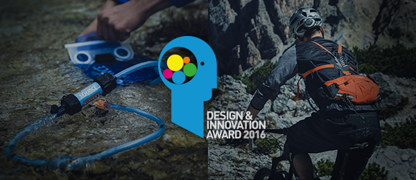 Design & Innovation Awards 2016 for SOURCE Hydration