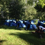 Trans Provence 2016 MTB Race Camping