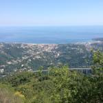 Trans Provence MTB Race view sea mountains