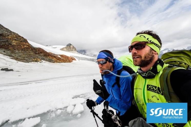 SOURCE Convertube Hydration System Chrigel Maurer X-Alps