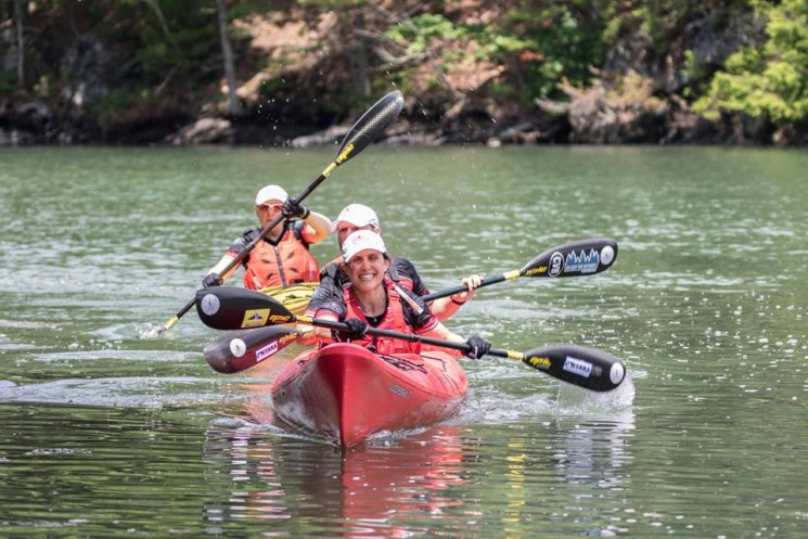 Paddling, biking, running, abseiling .. Adventure Racing with SOURCE