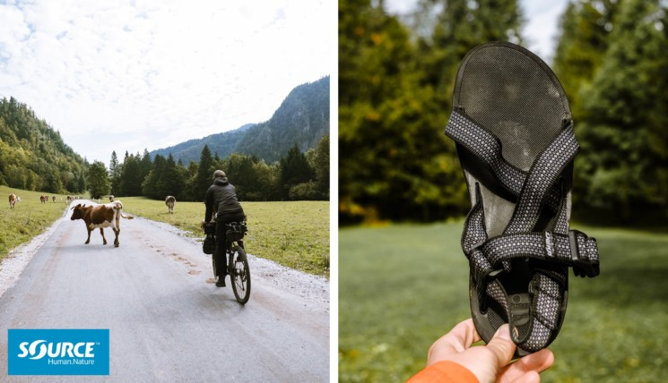 Sandals Bikepacking Slovenia Source