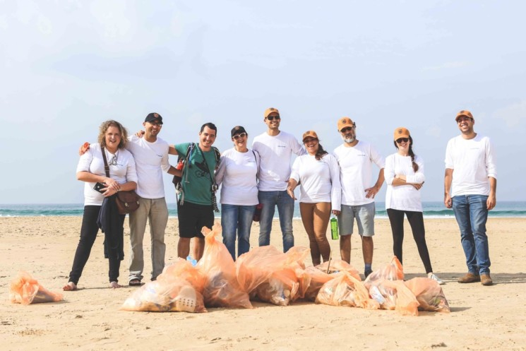 SOURCE Joins Beach Cleaning Challenge